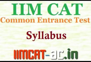 CAT 2016 Exam Syllabus (Official) - Check here @ iimcat.ac.in