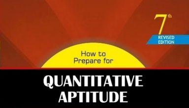 Quantitative Aptitude by Arun Sharma PDF Free Download - CAT 2016