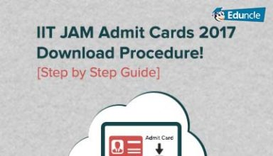 IIT JAM 2017 Admit Card Download @iitd.ac.in