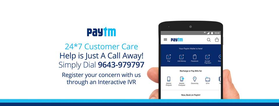 Paytm Customer Care Number & Email - For Customer Complaints