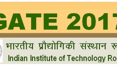GATE 2017 Results Release Date - Check Result@appsgate.iitr.ac.in