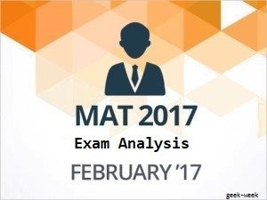 Mat 2017 Exam Analysis & Cutoffs