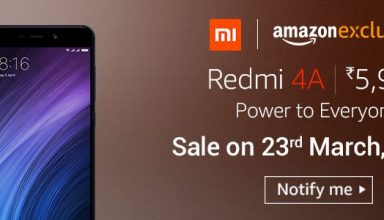 Buy Redmi 4A @ Amazon Prime for 5999 Price - Check Offers