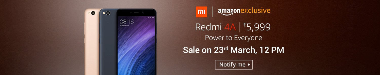 Buy Redmi 4A @ Amazon Prime for 5999 Price - Check Offers