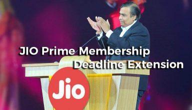 Jio Prime Membership Extended till April 15th & New Jio Offers