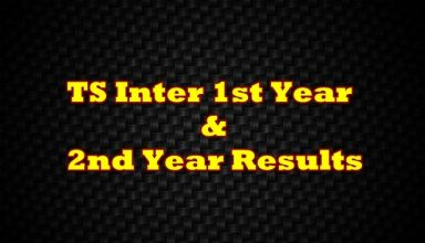 TS Inter 1st Year Results, Inter 2nd Year Results-Manabadi & Schools9