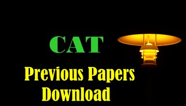 CAT Previous Papers Download