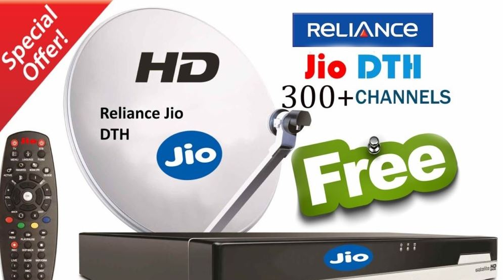 Jio dth booking online offer