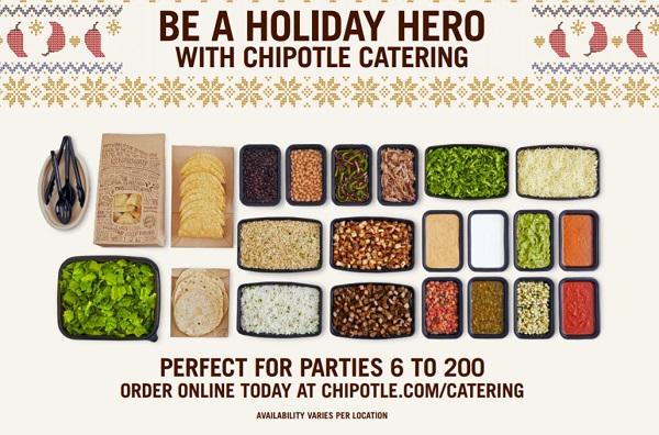 Chipotle catering - Geek-Week.net