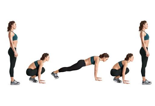 Burpess workout